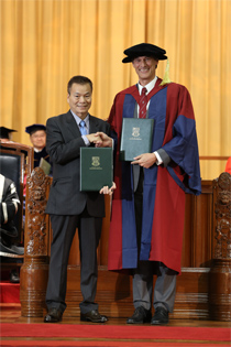 The Tenth Inauguration of Endowed Professorships